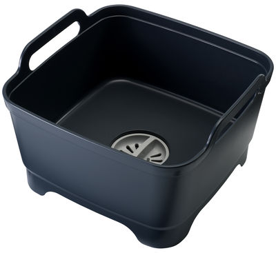 Kitchenware - Kitchen Sink Accessories - Wash&Drain Dishwashing bowl by Joseph Joseph - Grey - Polypropylene