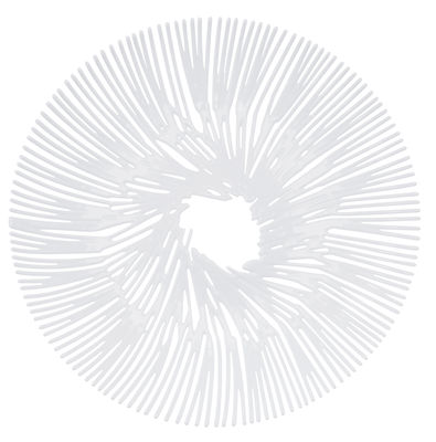 Tavola - Cesti, Fruttiere e Centrotavola - Fruttiera Anemone di Koziol - Bianco opaco - Materiale plastico