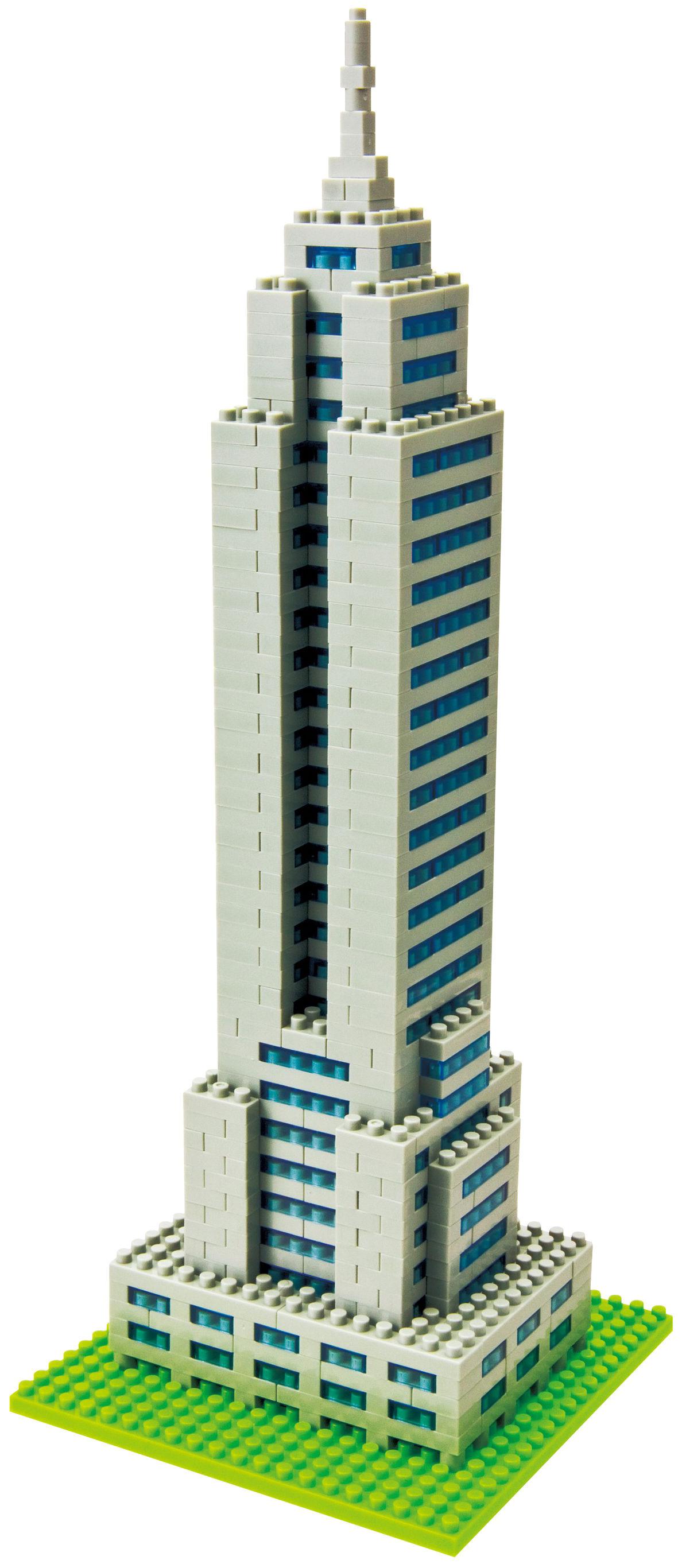 Déco - Pour les enfants - Jeu de construction Nanoblock Monuments / Empire State Building - Mark's - Empire State Building - ABS