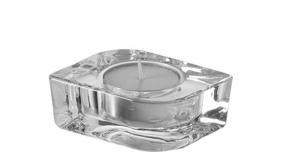 Dekoration - Kerzen, Kerzenleuchter und Windlichter - Lucca Kerzenleuchter - Leonardo - Transparent - Glas