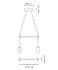 Kit d'assemblage Triana / Pour créer une suspension Double - Carpyen