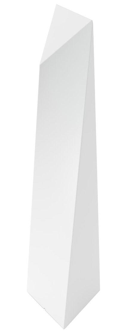 Illuminazione - Lampade da terra - Lampada a stelo Manhattan - H 190 cm / Per l'interno di Slide - Bianco - polietilene riciclabile