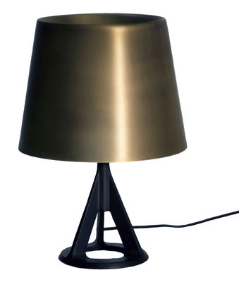 Illuminazione - Lampade da tavolo - Lampada da tavolo Base di Tom Dixon - Oro / Nero - Ghisa, Ottone spazzolato