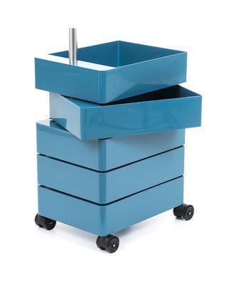 360° Rollcontainer / 5 Schubladen - Magis - Blau