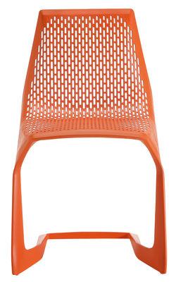 Image of Sedia impilabile Myto di Plank - Arancione - Materiale plastico