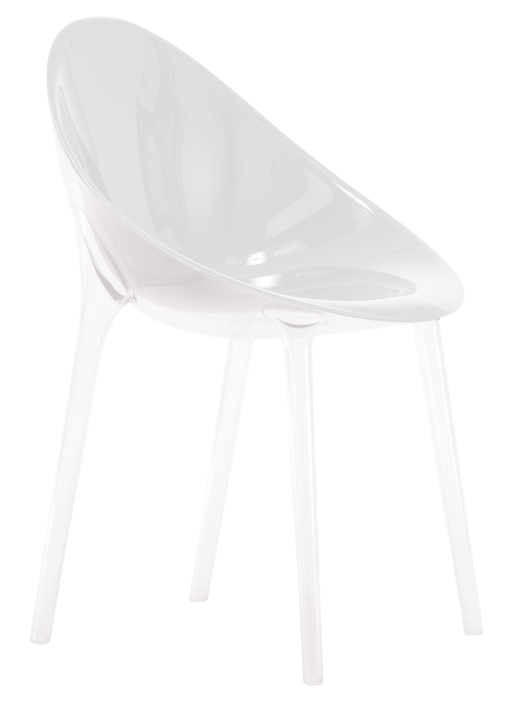 Möbel - Stühle  - Mr. Impossible Sessel Opak - Kartell - Opakweiß - Polykarbonat