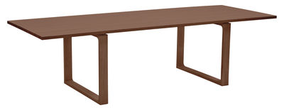 Furniture - Dining Tables - Essay Table - 265 x 100 cm by Fritz Hansen - Walnut - Solid walnut