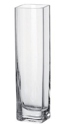 Dekoration - Vasen - Lucca Vase / 8 x 8 x H 30 cm - Leonardo - Transparent / 8 cm x 8 cm x H 30 cm - Glas