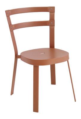 Chaise empilable Thor / Métal - Emu cuivre en métal