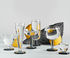 Puck Champagne glass - / Set of 2 - Mouth-blown glass by Tom Dixon