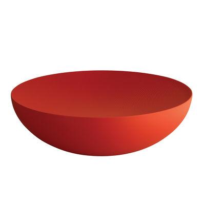 Coupe Double Ø 32 cm Alessi rouge en métal