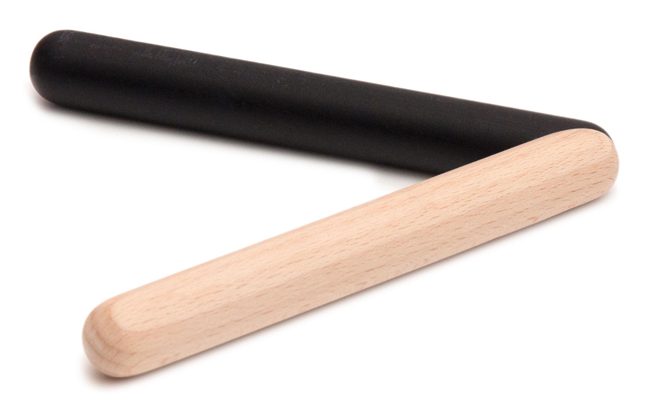 Arts de la table - Dessous de plat - Dessous de plat Trivet Stick - Y'a pas le feu au lac - Bois naturel & noir - Hêtre massif
