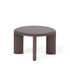 IO End table - / Ø 60 cm - Walnut by Ercol