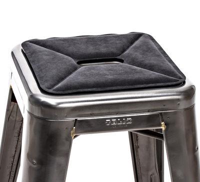 Galette d'assise / Tissu - Pour tabourets - Tolix anthracite en tissu