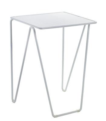 Mobilier - Tables basses - Guéridon Fish & Fish  / Medium - Serax - Blanc - Aluminium laqué