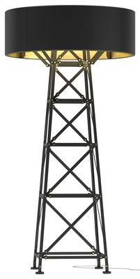 Lampadaire Construction Lamp Large / H 185 cm - Moooi noir en métal