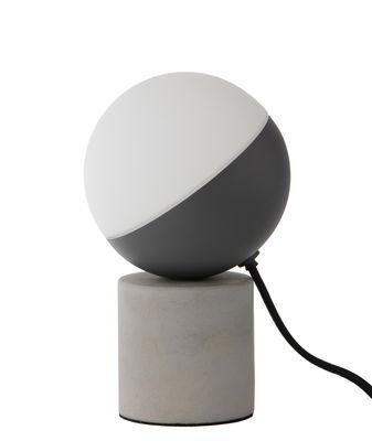 Lampe de table Fabian Mini / Béton - Frandsen gris en pierre