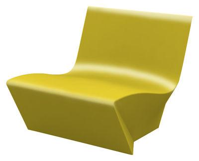 Kami Ichi Lounge Sessel lackiert - Slide - Lack-Gelb