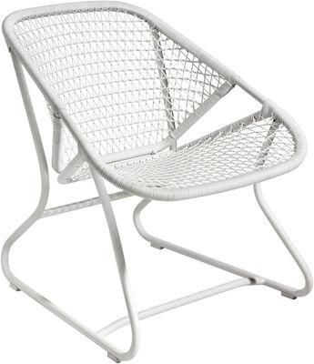 Sixties Lounge Sessel - Fermob - Weiß