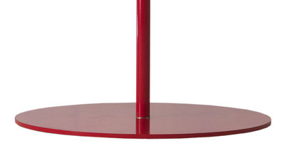 Outdoor - Parasols - Plate Round Parasol base by Symo - Red - Steel