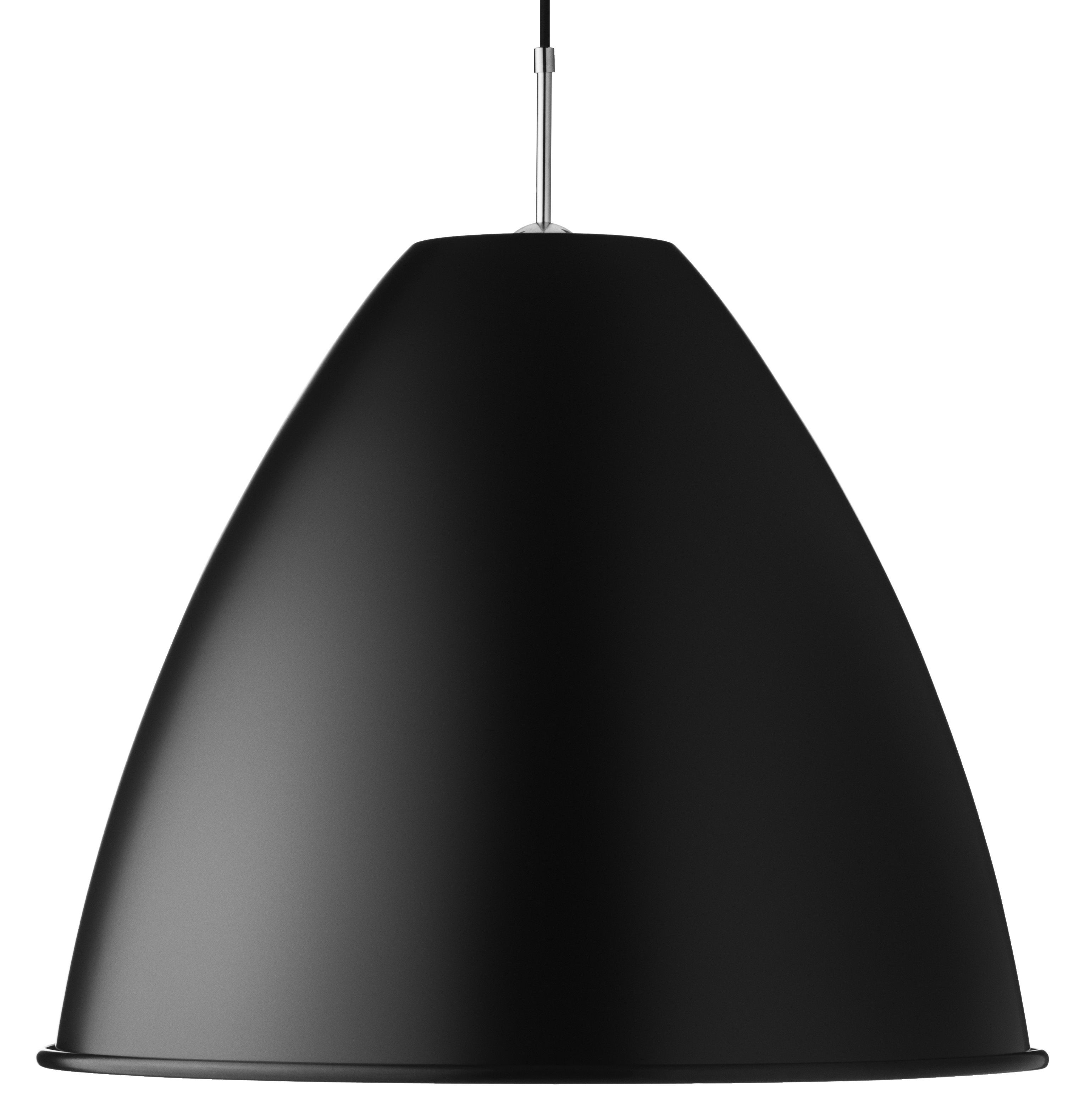 Lighting - Pendant Lighting - Bestlite BL9 XL Pendant - Ø 60 cm - Reissue 1930 by Gubi - Black - Chromed metal