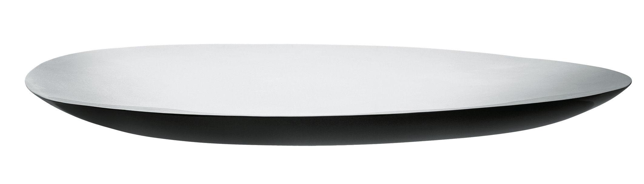 Tavola - Vassoi  - Piano/vassoio Disco Volante di Alessi - Acciaio - Acciaio inossidabile