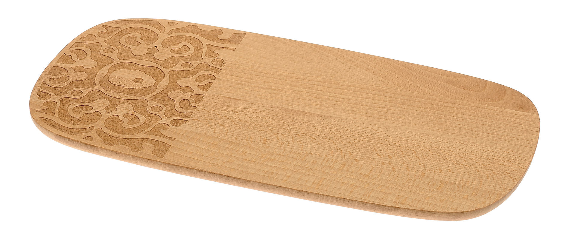 Arts de la table - Plateaux - Planche à petit-déjeuner Dressed in Wood / 30 x 15 cm - Alessi - Bois naturel - Hêtre