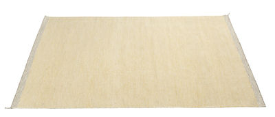 Decoration - Rugs - PLY Rug - 200 x 300cm by Muuto - Yellow - Wool