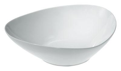 Saladier Colombina / 31 x 27 cm - Alessi blanc en céramique