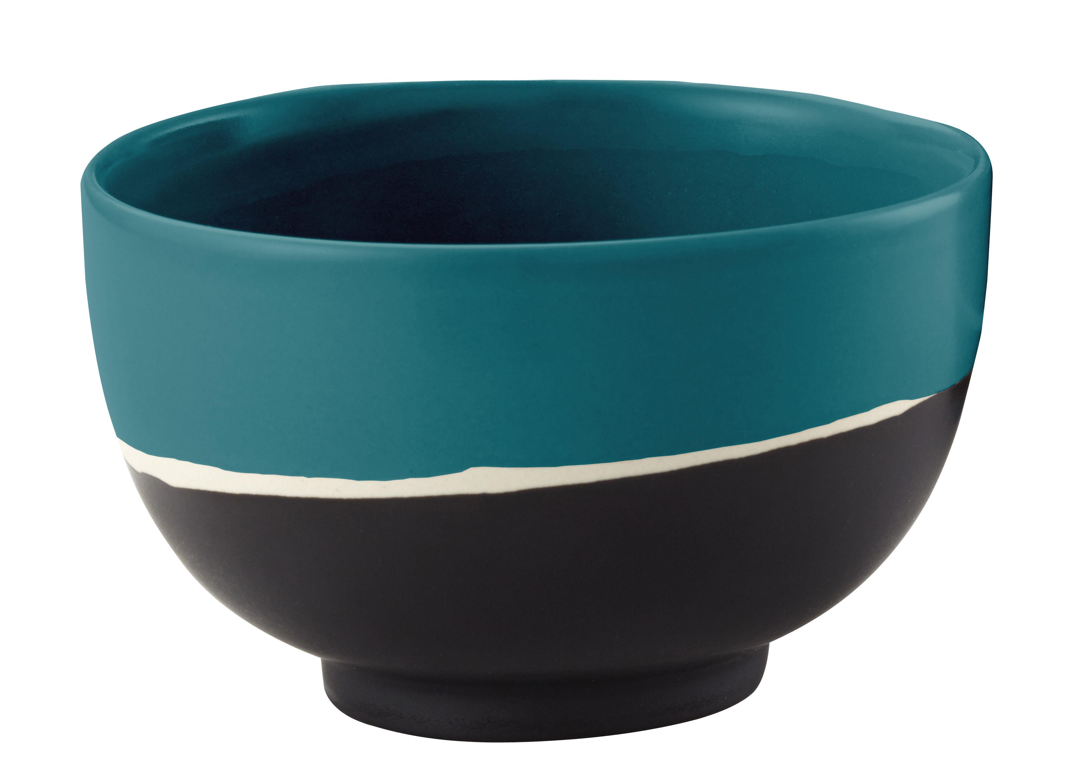 Kitchenware - Decorative Salad & Fruit Bowls - Sicilia Small dish - Ø 8,5 cm by Maison Sarah Lavoine - Blue - Painted enameled stoneware