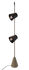 Cupido LED Stehleuchte / 2 Lampenschirme - Betonsockel - H 220 cm - Karman