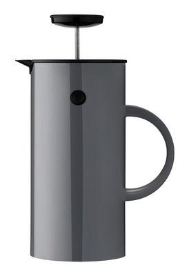 Théière à piston Classic / 8 tasses - Stelton gris anthracite en matière plastique