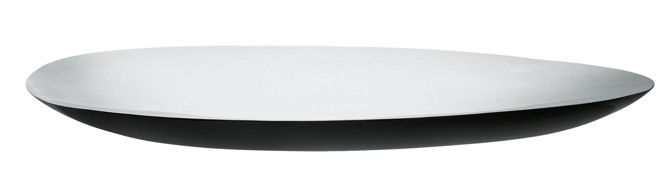 Tableware - Trays - Disco Volante Tray by Alessi - Steel mirror polished - Stainless steel