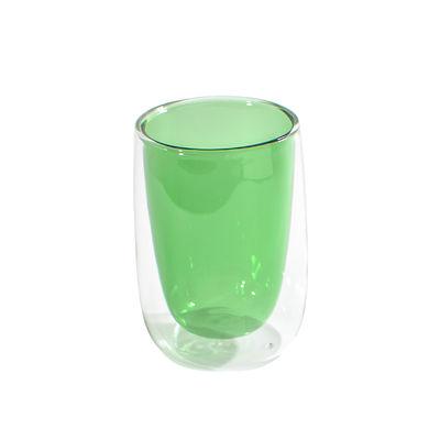 Verre à thé Doppler / Double paroi isolante - Fundamental Berlin vert en verre