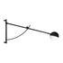 Balancer Wandleuchte mit Stromkabel / Schwenkarm - Verstellbare Länge von 102 bis 158 cm - Northern