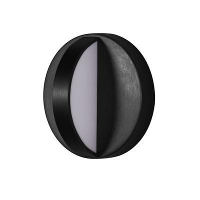 Applique d'extérieur Plus LED OUTDOOR / Pour salle de bains - Ø 18 cm - ENOstudio noir en métal