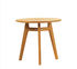 Knit Coffee table - / Ø 50 cm - Teak by Ethimo