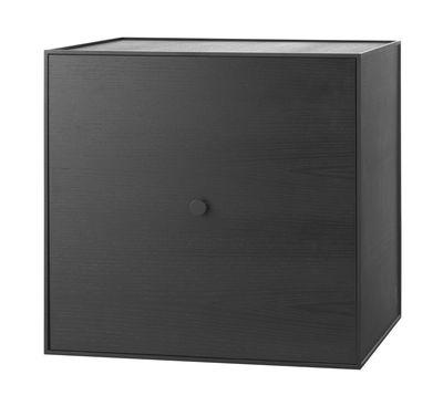 Etagère Frame / Boîte - 49x49 cm - by Lassen noir en bois