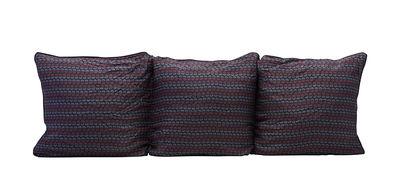 Arredamento - Complementi d'arredo - Foodera cuscino Valentina - / 150 x 50 cm di House Doctor - Blu & rosso - Cotone, Viscosa