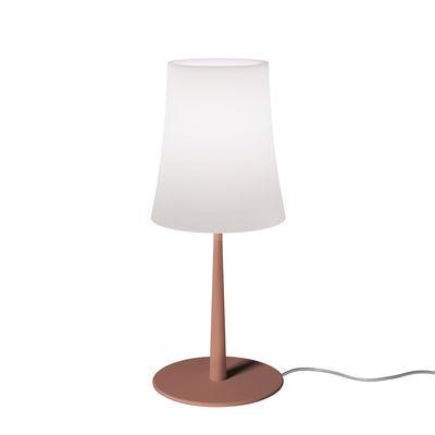 Image of Lampada da tavolo Birdie Easy Small - / H 43 cm di Foscarini - Rosso - Materiale plastico