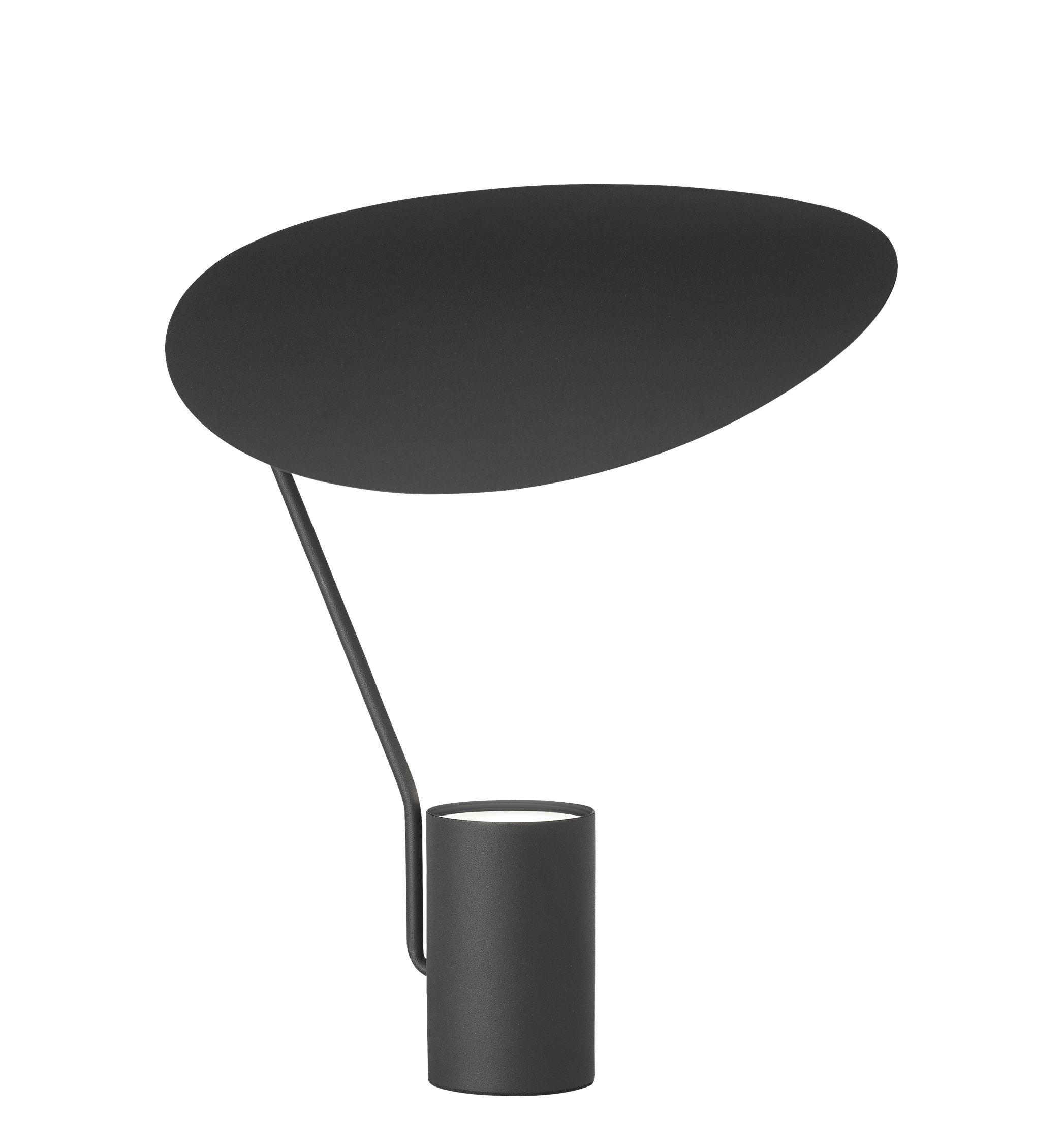 Luminaire - Lampes de table - Lampe de table Ombre / Métal - Orientable - Northern  - Noir - Acier peint