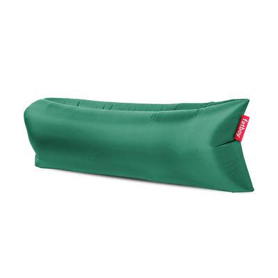 Pouf gonflable Lamzac 3.0 / L 200 cm - Polyester - Fatboy Pouf gonflé : L 200 x larg. 90 cm x H 50 cm - Pouf plié : L 35 x Ø 18 cm vert jungle en tissu