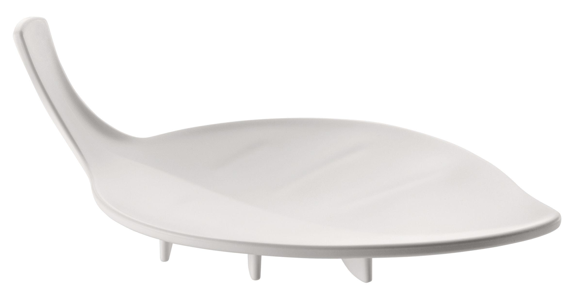 Accessories - Bathroom Accessories - Sense Soap holder by Koziol - Opaque white - Plastic