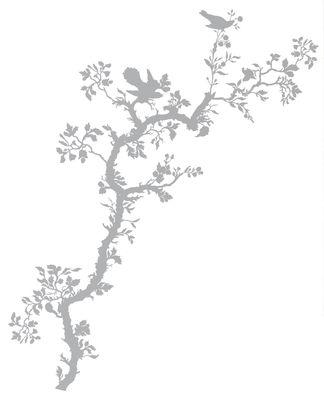 Image of Bird Branch Sticker - Domestic - Grau