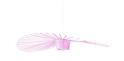 Suspension Vertigo Small / Ø 140 cm - Edition spéciale 5 ans - Petite Friture rose clair en matière plastique