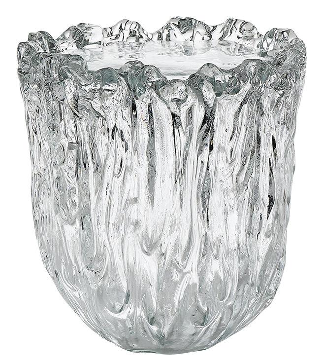 Mobilier - Tables basses - Table basse Fountain / Verre - Ø 38 x H 42 cm - Glas Italia - Ø 38 x H 42 cm / Transparent - Verre de Murano
