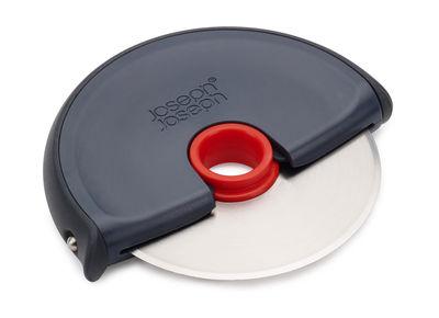 Cucina - Utensili da cucina - Taglia pizza Disc di Joseph Joseph - Grigio / Rosso - Inox, Silicone