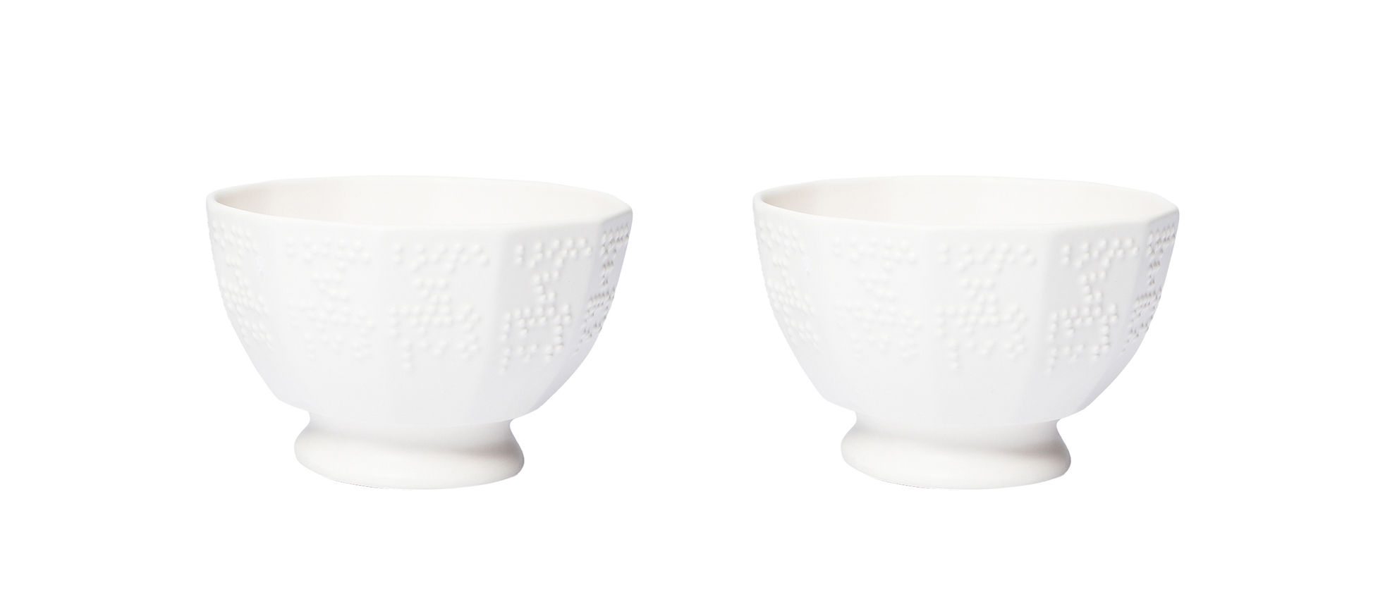 Tableware - Bowls - Figures 1bis Bowl by Petite Friture - Cream white - Ceramic