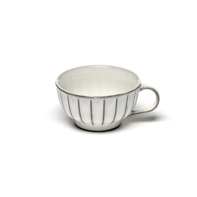 Tableware - Coffee Mugs & Tea Cups - Inku Coffee cup - / 20 cl - Stoneware by Serax - Cup / White - Enamelled sandstone