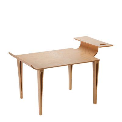 Furniture - Coffee Tables - Biplan Coffee table - / 84 x 61 cm x H 49 cm by Tsé-Tsé - Natural beech - Beechwood
